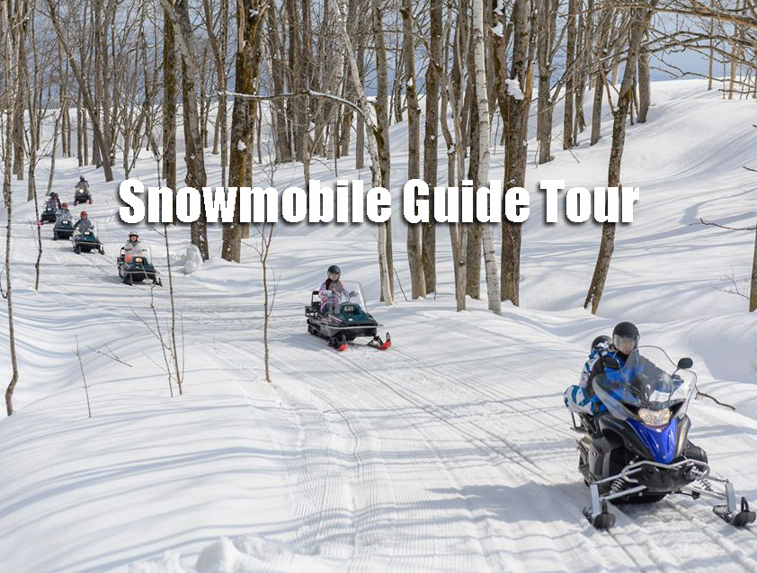 Snowmobile Guide Tour