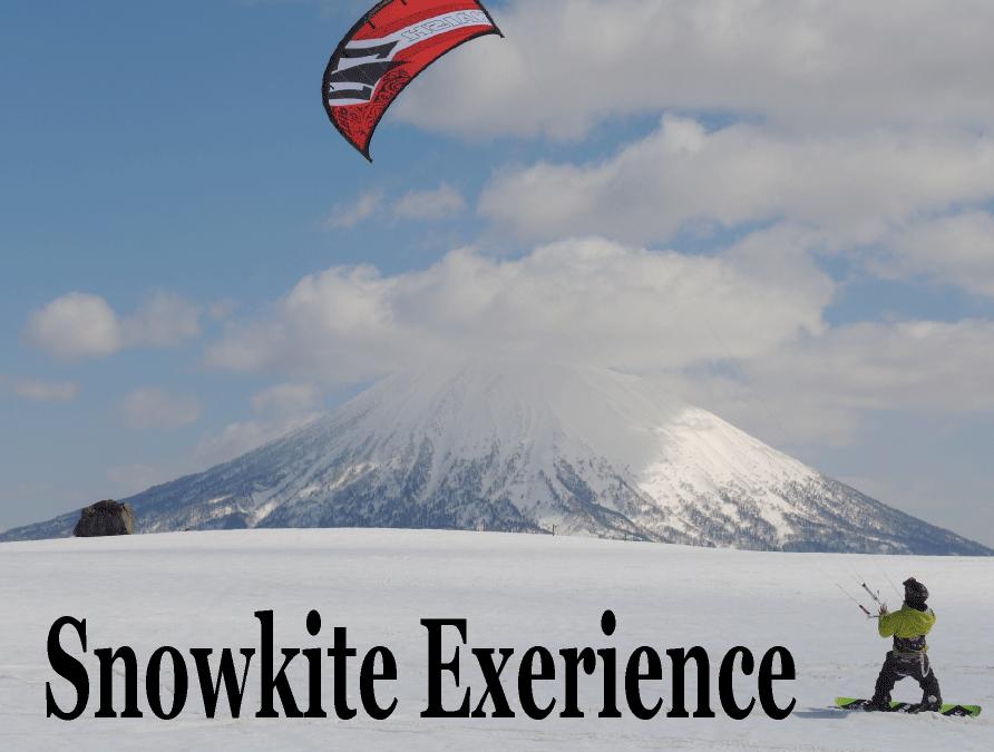 スノーカイト体験